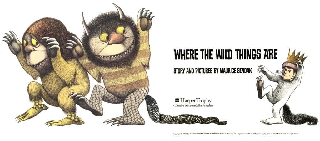 SENDAK_1963_Where_the_Wild_Things_Are_copyright_page