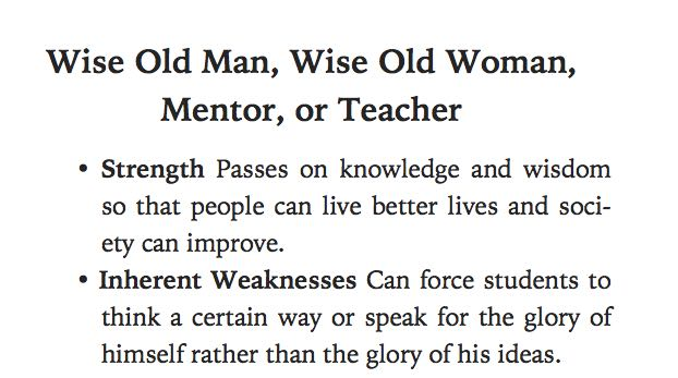 Wise Old People Archetype