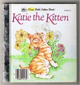 Katie The Kitten Little Golden Book