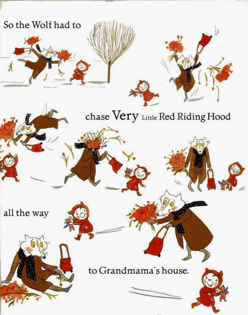 The evolution of little red riding hood slap happy larry buycottarizona
