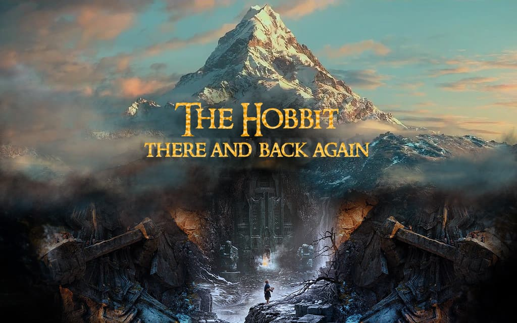 'There and back again' is the subtitle of The Hobbit, and also the central pattern of movement in many children's stories.