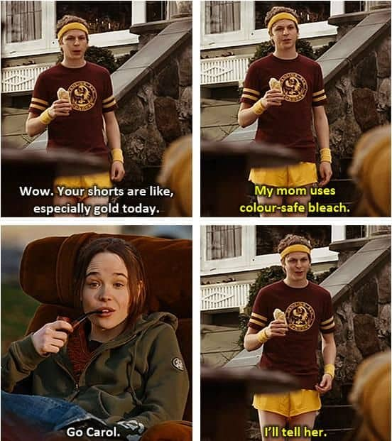 analysis of the movie juno Juno is a 2007 american coming of age comedy-drama independent film directed by jason reitman and written by diablo cody ellen page stars as the title character, an.