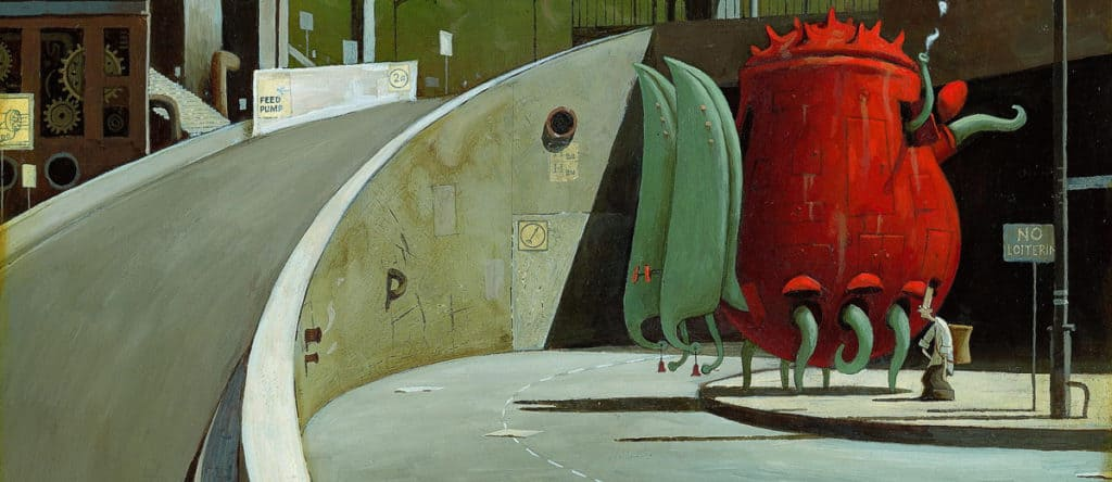 The Lost Thing Belonging by Shaun Tan