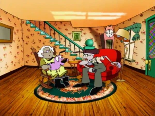 Courage The Cowardly Dog Living Room
